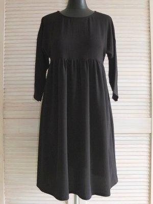 Schwarzes Tunika-/Minikleid / Hängerkleid, auch für Mamas