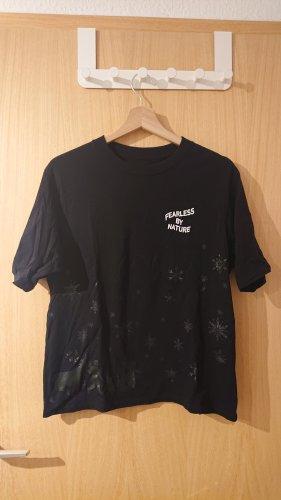 schwarzes Uniqlo Tshirt im Disney Frozen Design