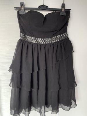 Tally Weijl Vestido estilo flounce negro