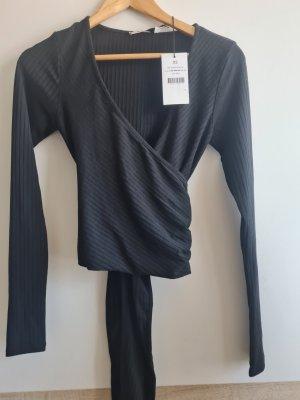 Nakd Wraparound Shirt black