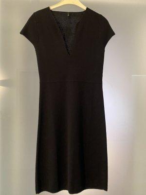 Benetton Vestito di lana nero
