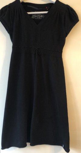 s.Oliver Vestido de lana negro