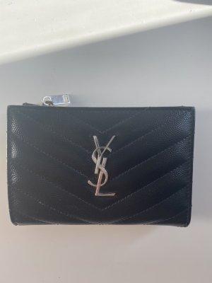 Schwarzes Yves Saint Laurent Portemonnaie