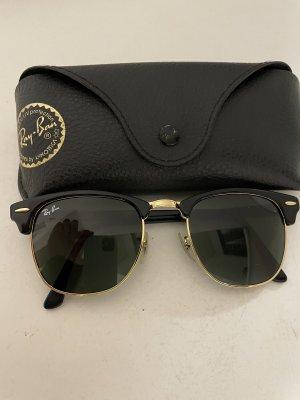 Rayban Kwadratowe okulary przeciwsłoneczne czarny