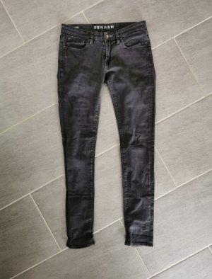 schwarzgraue Jeans Denham