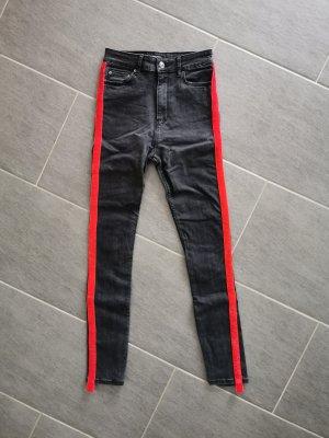 Schwarzgraue Jeans von Zara