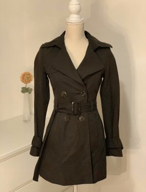 United Colors of Benetton Trench Coat black-anthracite