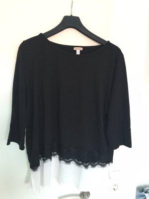 Amy Vermont T-shirt nero-bianco