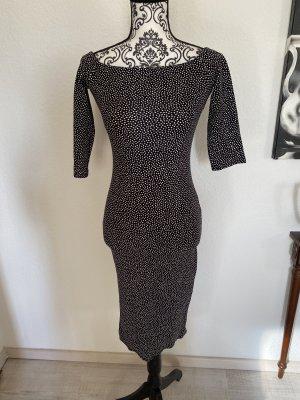 Schwarzweißes Etui Kleid Gr.S-M NEU!!!