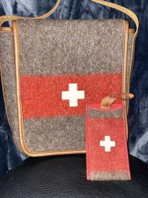 Schweiz Stoffen tas veelkleurig