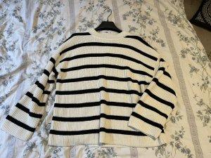 H&M Pull tricoté multicolore