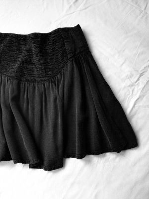 Review Circle Skirt dark grey