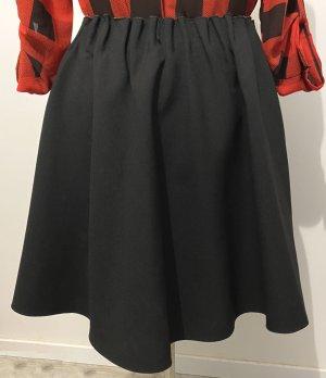 Zara Basic Circle Skirt black-light brown