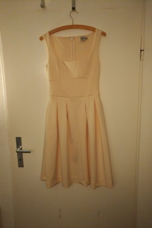 Asos A Line Dress nude-apricot