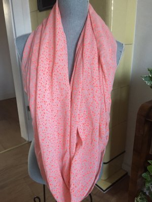 Pieces Bufanda tubo albaricoque-rosa claro
