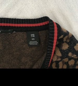Maison Scotch Veste en tricot multicolore