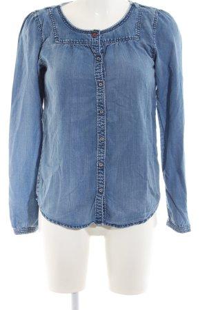 Scotch R'Belle Jeansbluse blau meliert Casual-Look