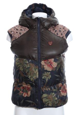 Scotch R'Belle Omkeerbaar vest bloemen patroon atletische stijl