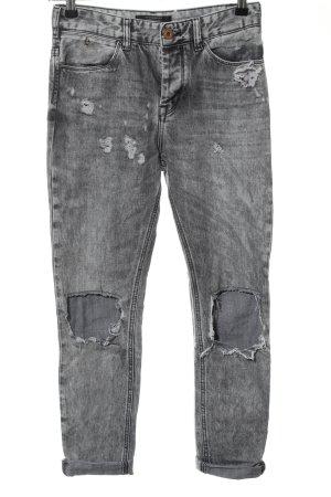 Scotch & Soda 7/8 Jeans schwarz Casual-Look