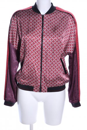 Scotch & Soda Bomberjacke pink Allover-Druck Casual-Look