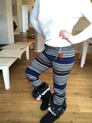 Scotch & Soda Pantalone di lana multicolore Lana