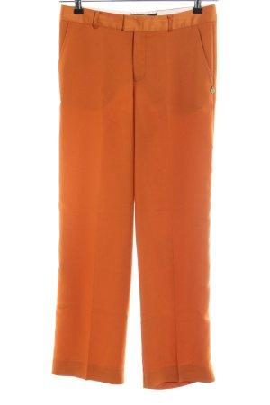 Scotch & Soda Pantalón de pinza alto naranja claro look casual