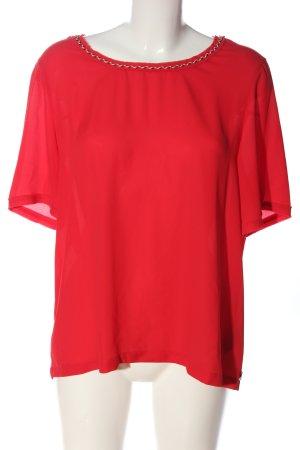 Scotch & Soda Kurzarm-Bluse rot Casual-Look