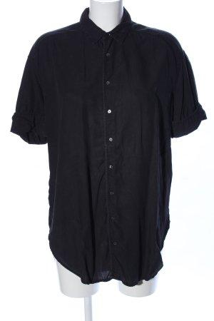 Scotch & Soda Short Sleeve Shirt black business style