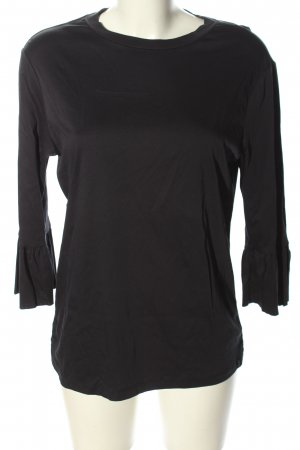 Scotch & Soda Langarm-Bluse schwarz Casual-Look