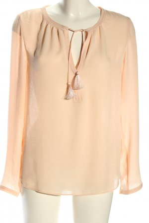 Scotch & Soda Langarm-Bluse nude Casual-Look