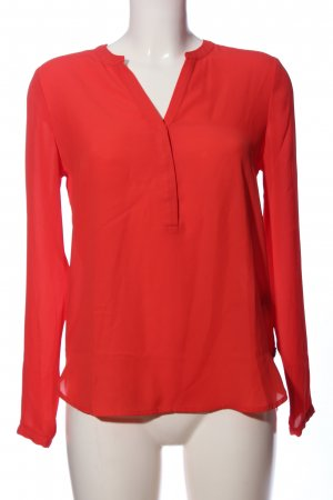 Scotch & Soda Langarm-Bluse rot Business-Look