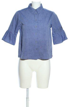 Scotch & Soda Langarmhemd blau Allover-Druck Business-Look
