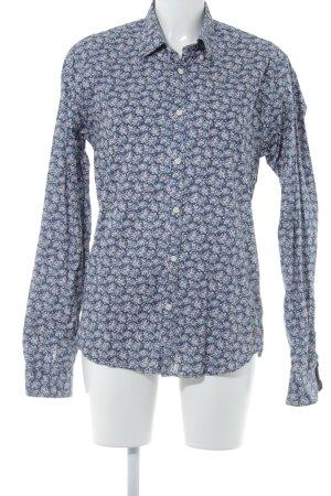 Scotch & Soda Langarmhemd Blumenmuster Casual-Look