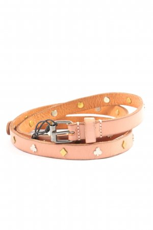 Scotch & Soda Leather Belt natural white casual look