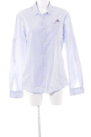 Scotch & Soda Long-Bluse himmelblau Casual-Look