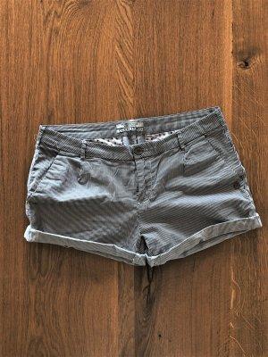 Scotch & Soda Maison Scotch Shorts kurze Hose weiß schwarz gestreift Gr. 30 (M)
