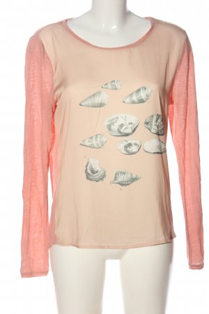 Scotch & Soda Print-Shirt nude-creme Motivdruck Casual-Look