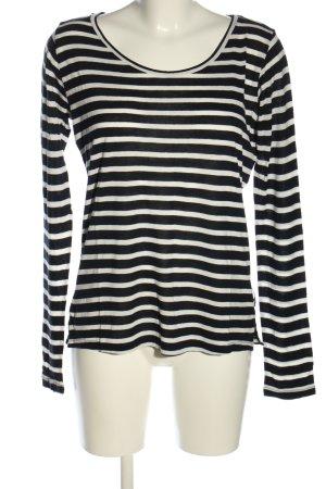 Scotch & Soda Ringelshirt schwarz-weiß Streifenmuster Casual-Look