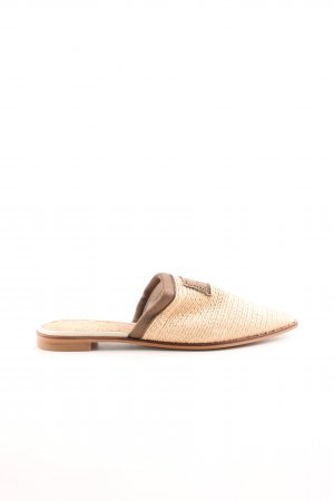 Scotch & Soda Sabots beige-grüngrau Beach-Look