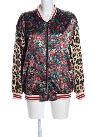 Scotch & Soda Shirt Jacket animal pattern casual look