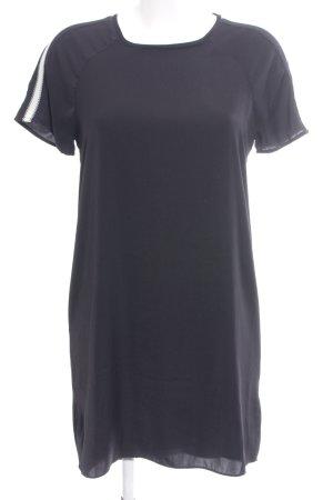 Scotch & Soda Shirtkleid schwarz Casual-Look