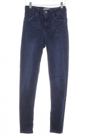 Scotch & Soda Skinny Jeans dunkelblau Washed-Optik