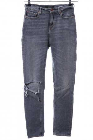 Scotch & Soda Slim Jeans hellgrau Casual-Look
