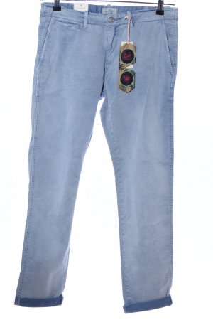 Scotch & Soda Stoffhose blau Casual-Look