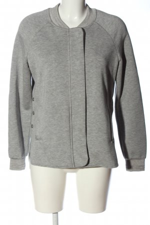 Scotch & Soda Sweatjacke hellgrau meliert Casual-Look