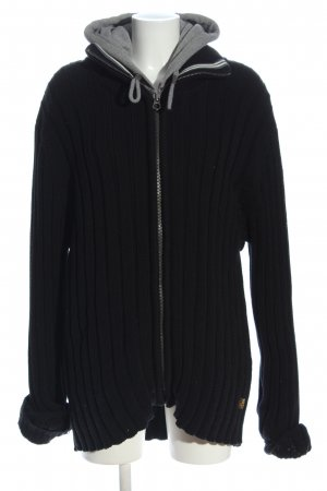 Scotch & Soda Sweatjacke schwarz-hellgrau Casual-Look