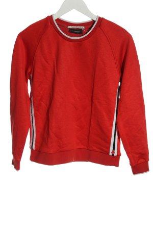 Scotch & Soda Sweatshirt rot sportlicher Stil