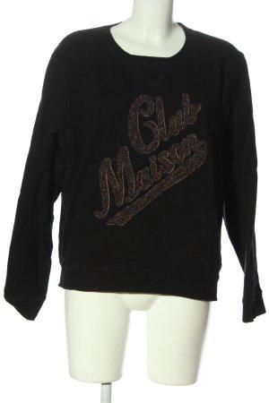 Scotch & Soda Sweatshirt schwarz-bronzefarben Casual-Look