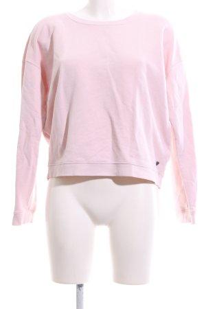 Scotch & Soda Sweatshirt pink Schriftzug gedruckt Casual-Look