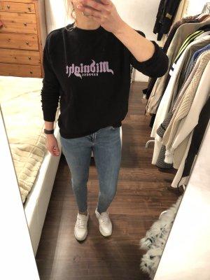 Scotch & Soda Sweatshirt Print Pullover schwarz Gr. S